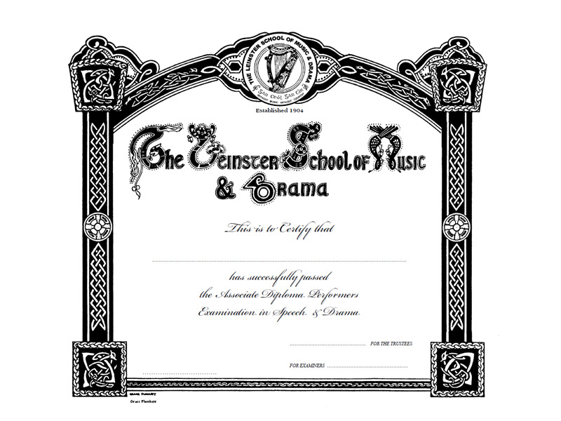 Leinster School of Music and Drama Certificate