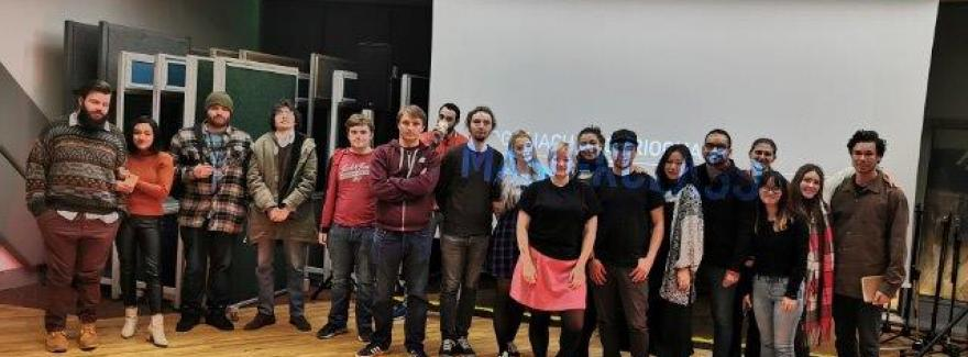 The Film & TV class welcomed a string of guest lectures this week