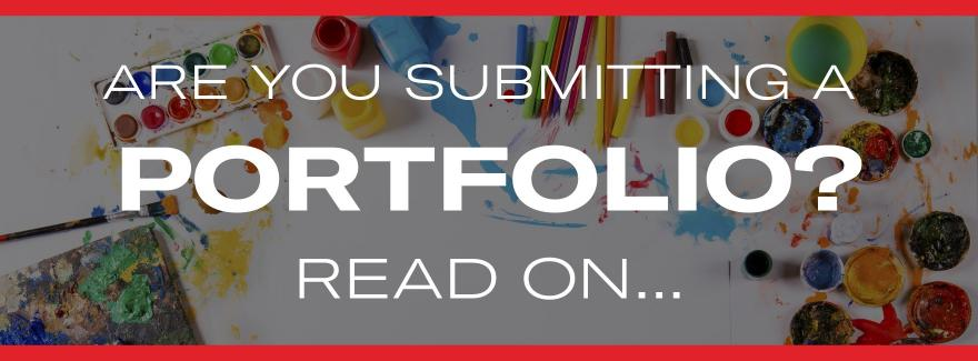 Submitting a portfolio to Griffith College