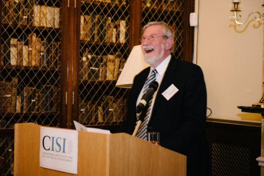 Professor Diarmuid Hegarty Presents at CISI's 2019 Awards