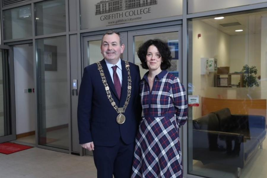 Lord Mayor of Dublin visits Griffith College City Centre