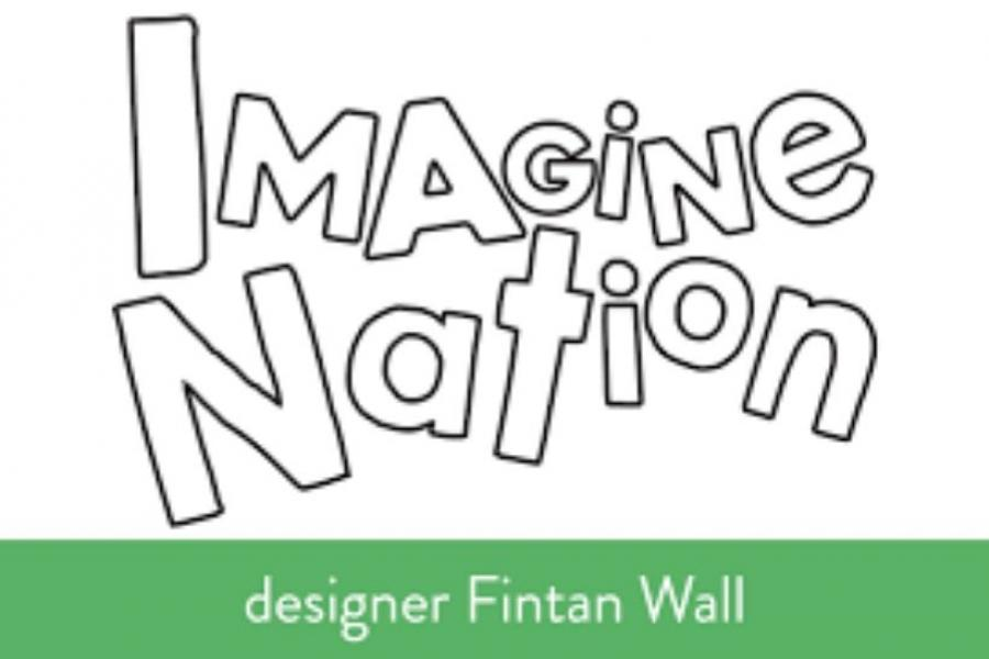 Imagine Nation logo by designer Fintan Wall