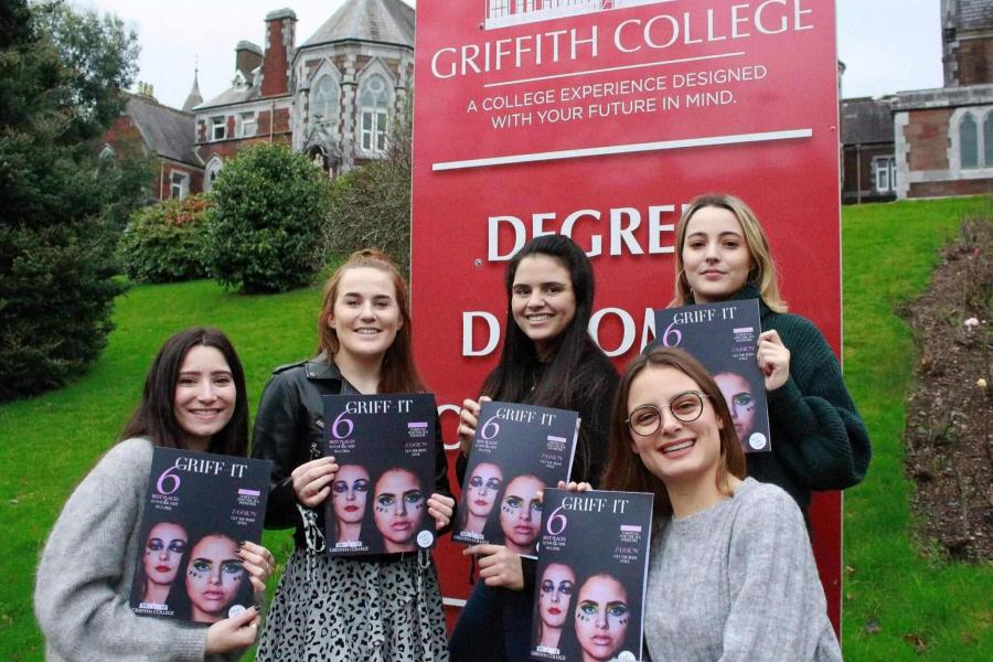 Griffith College Cork Campus Launches Issue 1 of 'Griff-it' Magazine