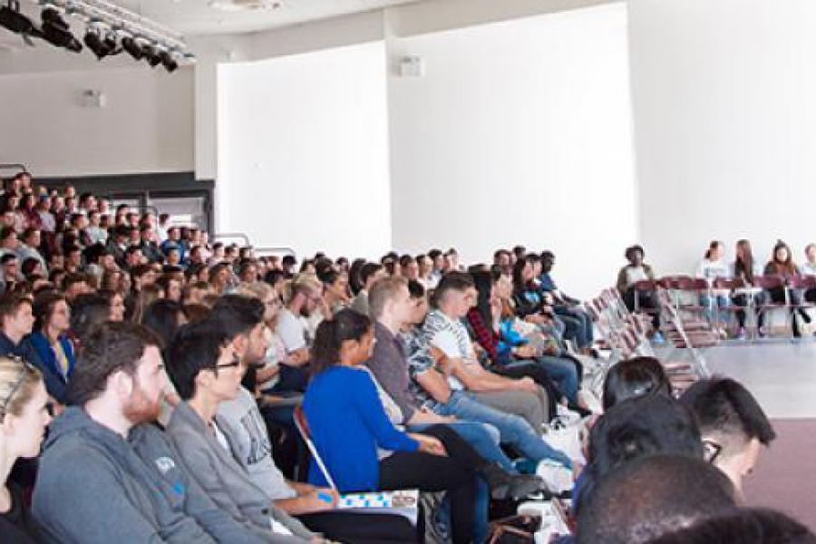 New Griffith College students attend induction in Dublin