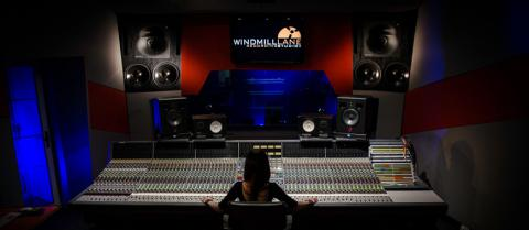 Student at Windmill Lane Studio