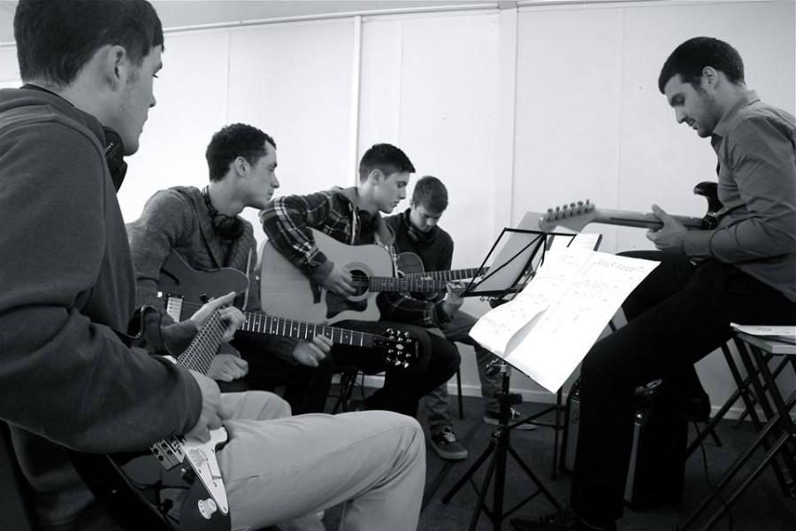 Music Revision Workshop Students