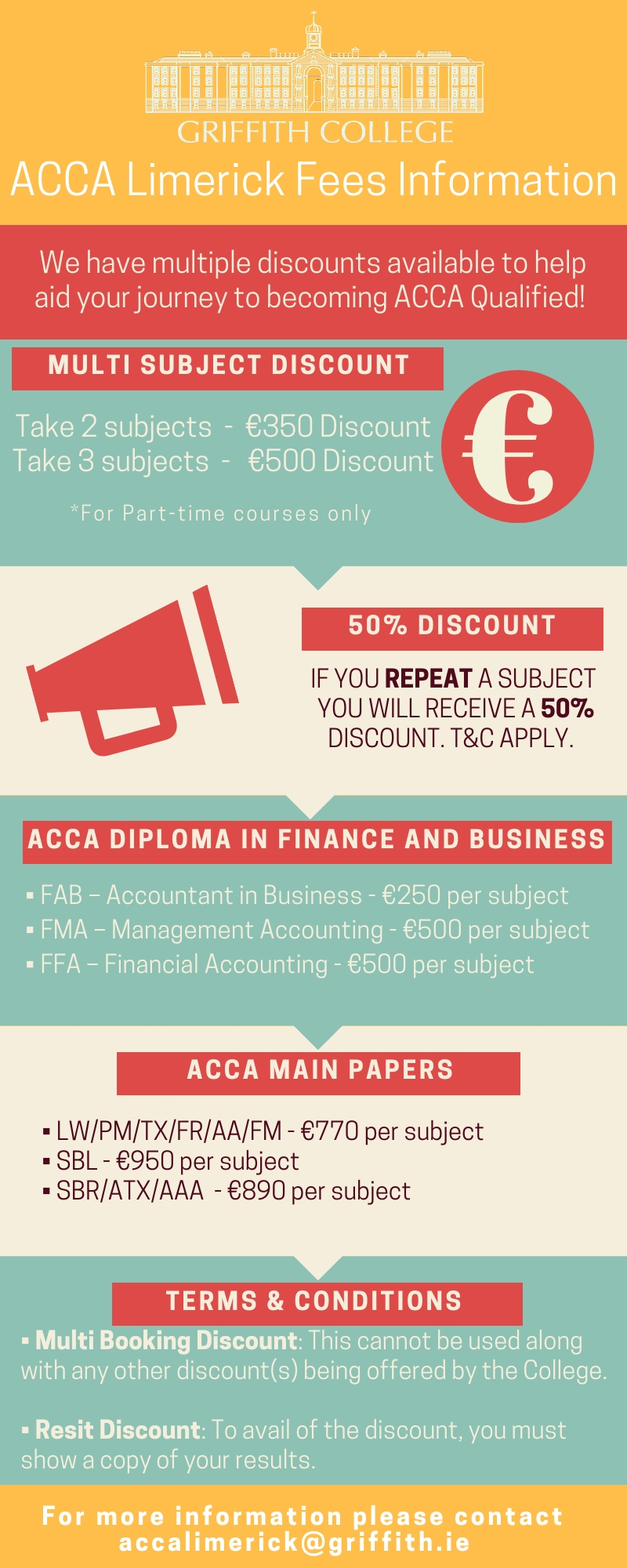 ACCA Courses Dublin - Full, Part Time & Online Accountancy Course