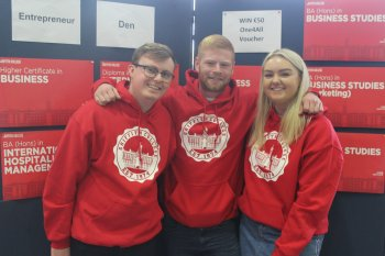 Griffith College Business Students Open Day