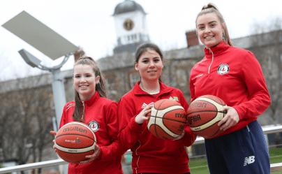 Griffith College Ladies Basketball Team